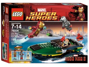 LEGO Iron Man Extremis Sea Port Battle 76006