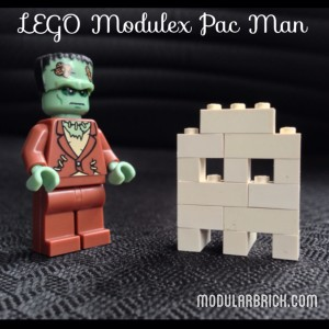 LEGO Modulex Pac Man Ghost