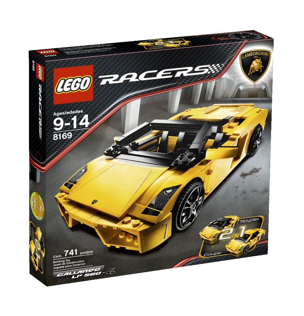 lego lamborghini gallardo lp 560 4 8169 modular brick. Black Bedroom Furniture Sets. Home Design Ideas