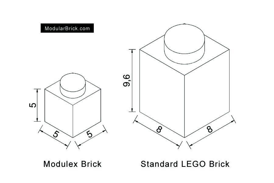 Modulex & LEGO Brick