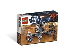 LEGO Elite Clone Trooper & Commando Droid Battle Pack 9488