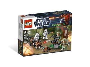 LEGO Endor Rebel Trooper & Imperial Trooper Battle Pack 9489