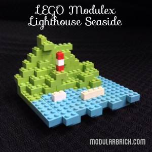 LEGO Modulex Microscale Lighthouse Seaside Scene