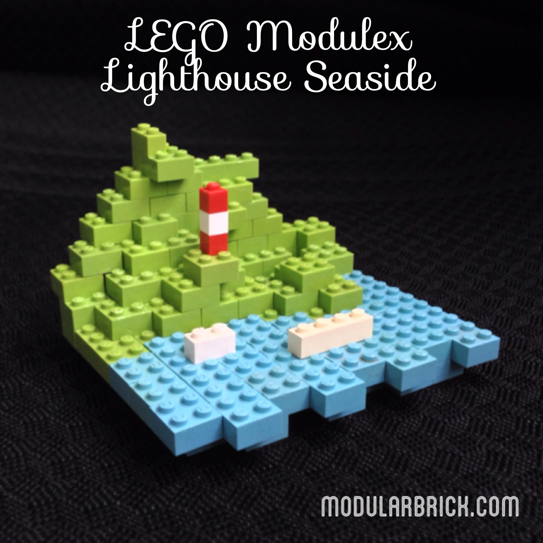 LEGO Modulex Microscale Lighthouse Seaside Scene