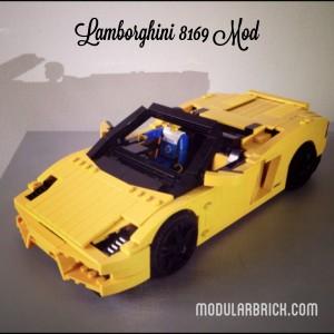 LEGO Lamborghini Gallardo 8169 Mod