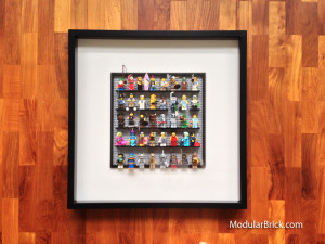 LEGO DIY Minifigure Ikea Ribba Frame Display