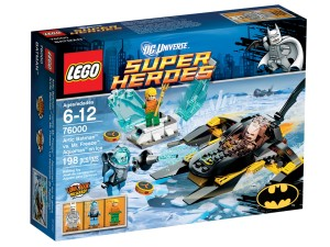 LEGO Arctic Batman vs. Mr Freeze: Aquaman on Ice 76000