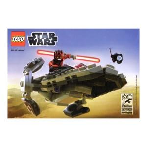 LEGO San Diego Comic Con Darth Maul's Mini Sith Infiltrator