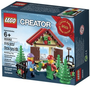 LEGO Christmas Tree Seller 40082 & Shop@Home Promotion October 2013