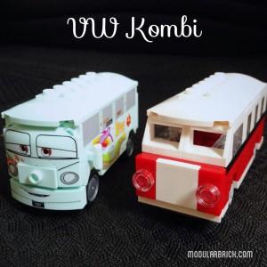 LEGO Mini VW Kombi Filmore 8487 Creator 40079