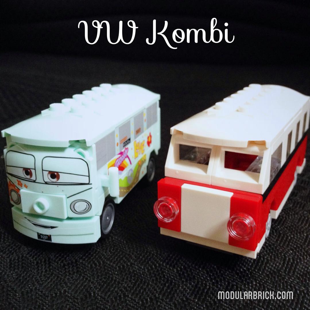 Lego Mini Vw Kombi Filmore 8487 Creator 40079 Modular Brick