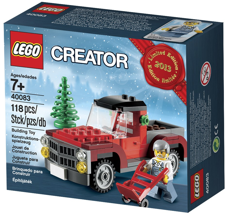 LEGO-Holiday-Set-2013-Pickup-Truck-Christmas-Tree-40083-2