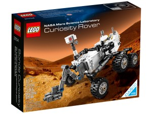 LEGO NASA Mars Science Laboratory Curiosity Rover 21104