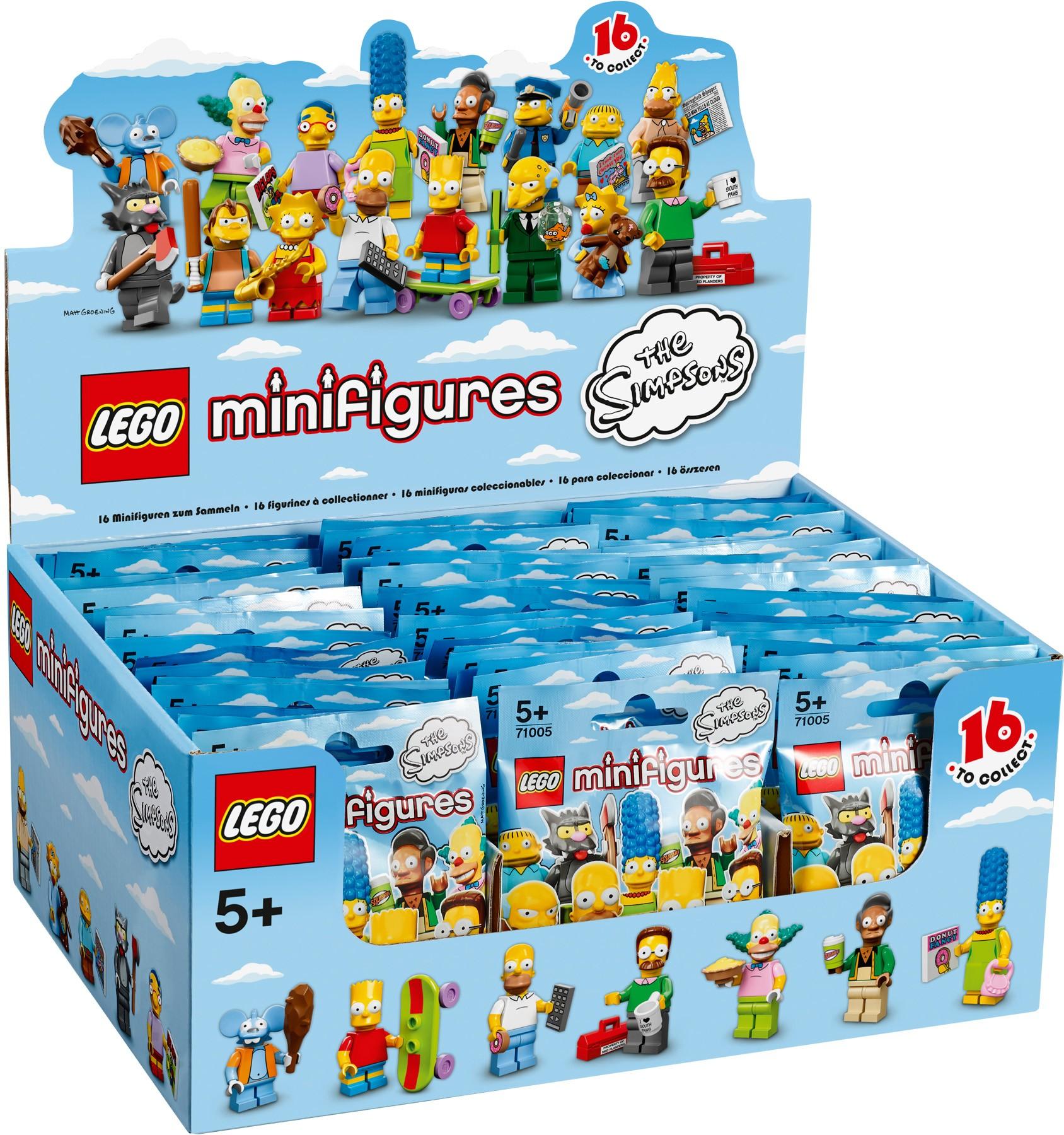 Simpsons Minifigures 71005-1