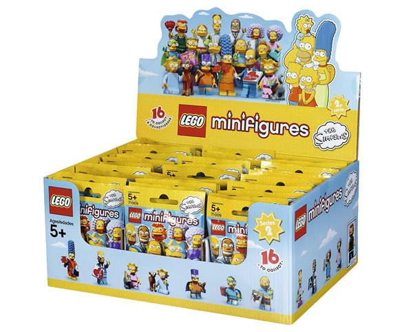 Simpsons Minifigures 71009-1