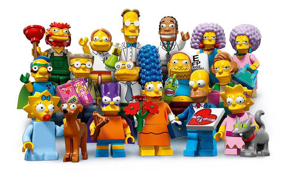 Simpsons Minifigures 71009-2