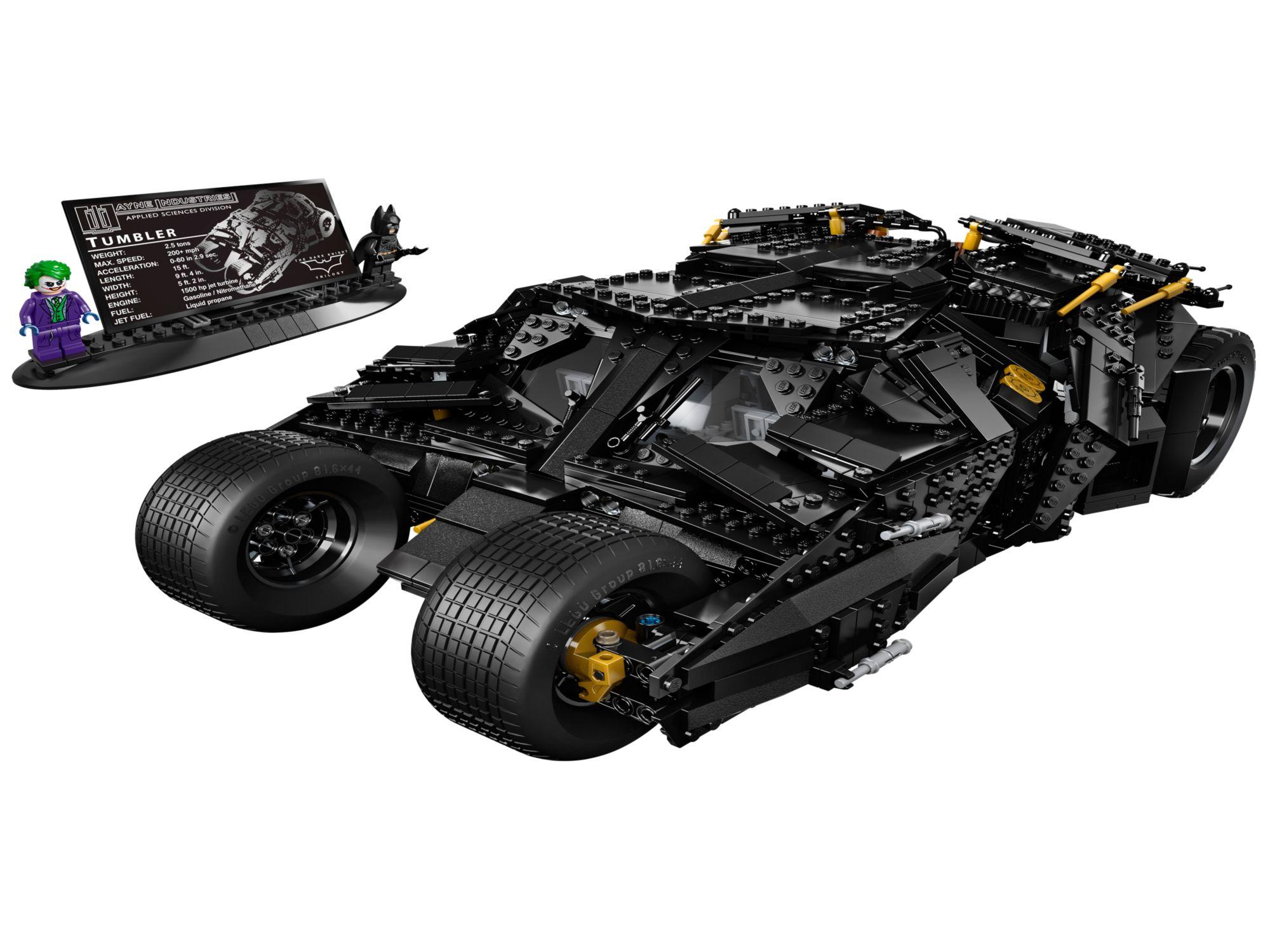 lego batman the tumbler 76023 modular brick. Black Bedroom Furniture Sets. Home Design Ideas